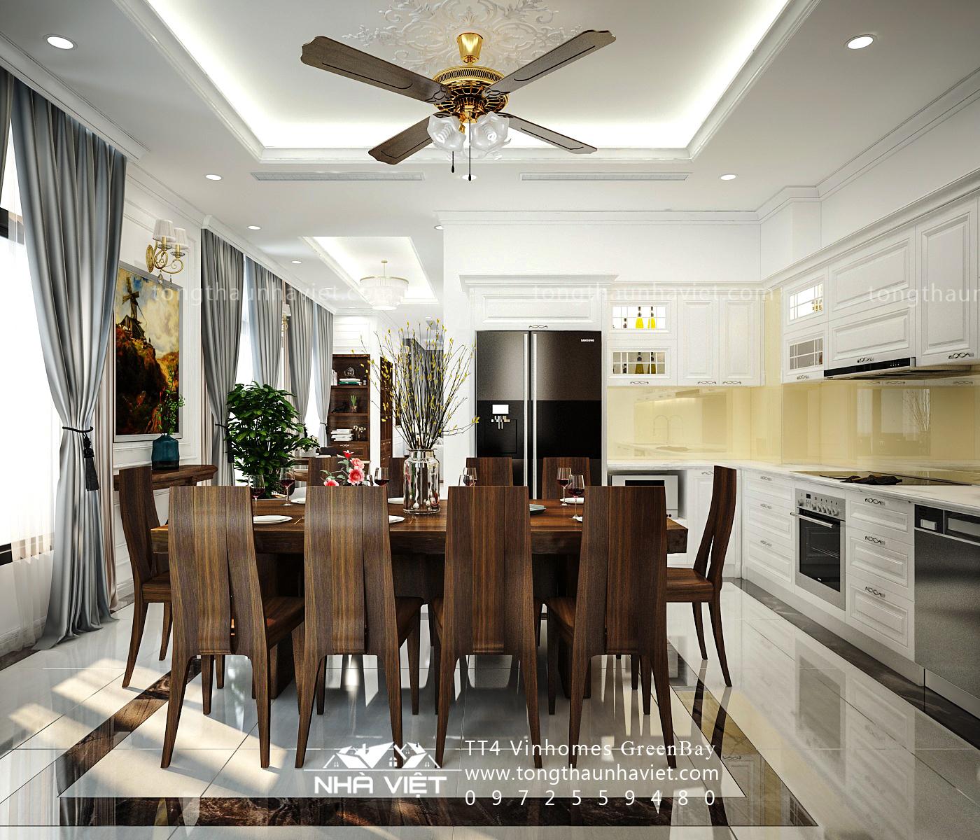 Lưu ý về mặt kiến trúc khi thiết kế phòng bếp chung cư
