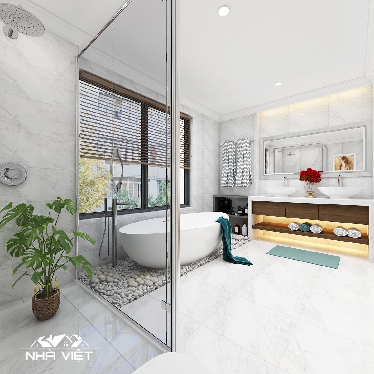 Mẹo giúp không gian vệ sinh luôn sạch sẽ thơm tho mà không cần dọn dẹp nhiều
