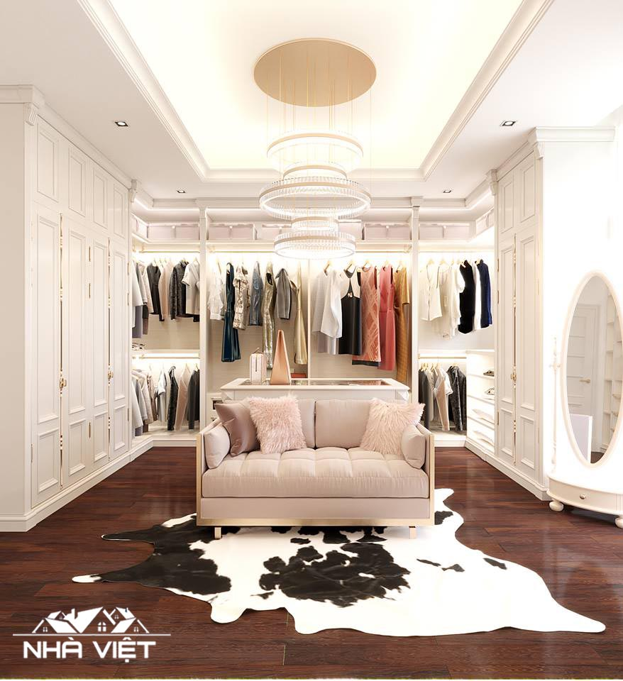Phòng thay đồ - Không gian ưa thích của tìn đồ thời trang.